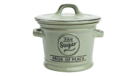 Zelená keramická dóza na cukr T&G Woodware Pride Of Place