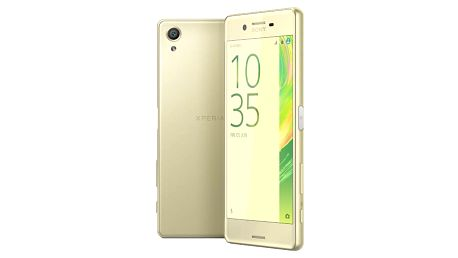 Sony Xperia X, limetková zlatá - 1303-0695