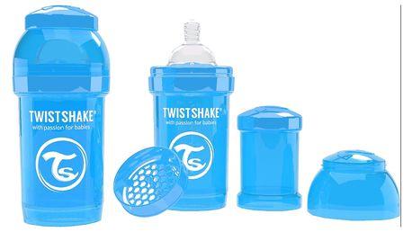 TWISTSHAKE Antikoliková láhev 180ml Modrá