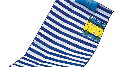 Plážová rohož s polštářem