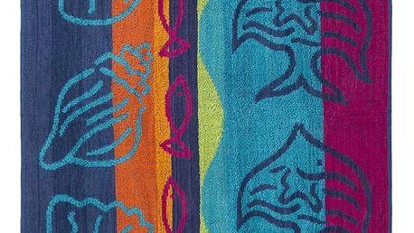 JAHU Plážová osuška Under water, 90 x 180 cm