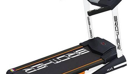 Běžecký pás Brother GB4300 s elektronicky nastavitelným náklonem černý + Doprava zdarma