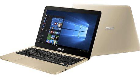 ASUS E200HA-FD0081TS, zlatá
