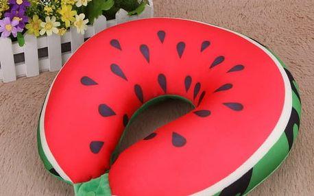 Cestovní polštářek ve tvaru ovoce