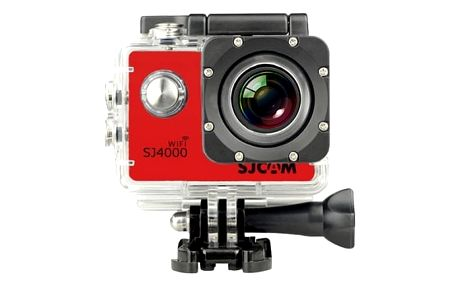 SJCAM SJ4000 WIFI sportovní kamera - červená