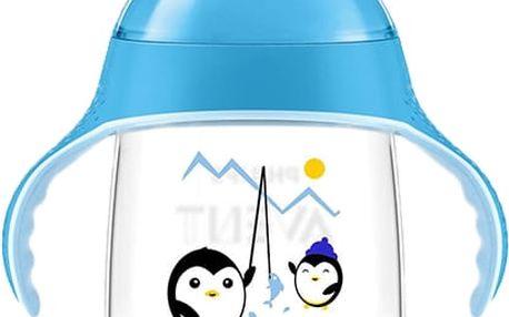 AVENT Hrneček pro první doušky Premium 340 ml - modrý
