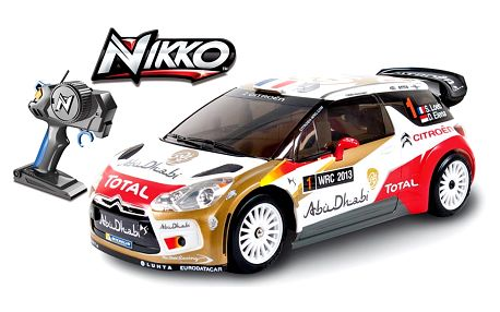 RC auto Nikko Citroen DS3 WRC 2012 1:16