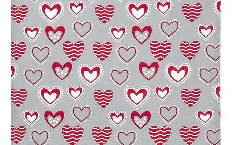 Trade Concept Utěrka Hearts, 50 x 70 cm