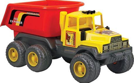 Plastové auto Pilsan Rodeo Dump Truck 91cm, žluté