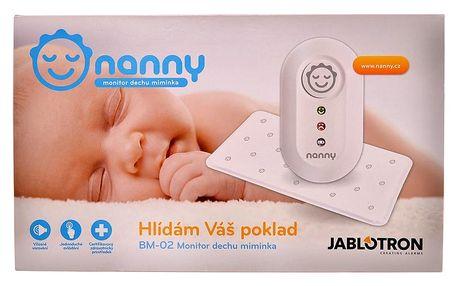 JABLOTRON Jablotron Baby monitor dechu Nanny BM-02