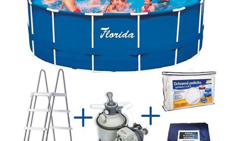 Marimex Bazén Florida 4,57x1,22 m s pískovou filtrací Sand 4 - 10340121