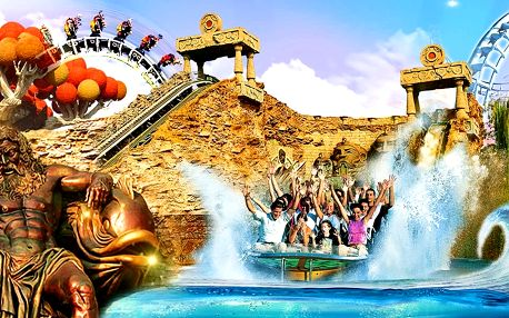 Gardaland: italský zábavní park vč. vstupenky