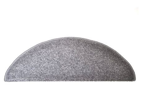 Kobercové nášlapy na schody Eton 24 x 65 cm - Šedá