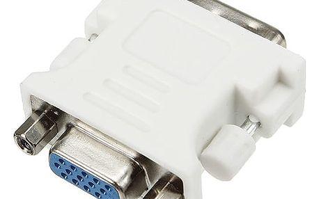 Adaptér VGA (samice) do DVI-D (samec)