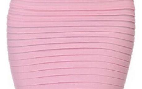 Trikosukně - světle růžová