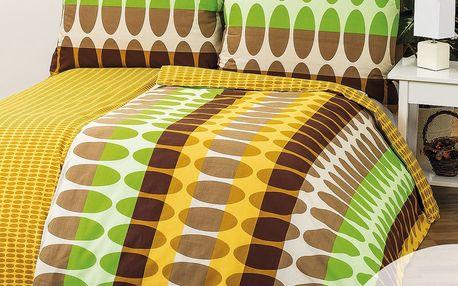 4Home Povlečení Afrika 1+1, 140 x 200 cm, 70 x 90 cm