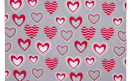 Trade Concept Prostírání Hearts, 33 x 45 cm