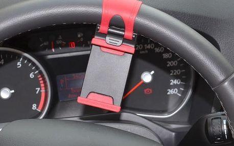 Univerzální držák telefonu na volant auta