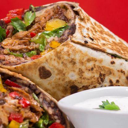 Mexické menu se 4 druhy specialit a pivo pro 2