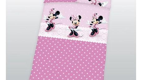 Herding povlečení Minnie Mouse 100x135, 40x60