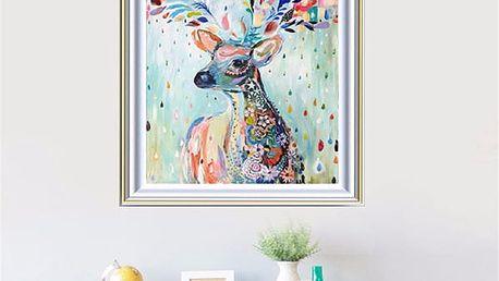 Sada pro výrobu vlastního obrazu - jelen