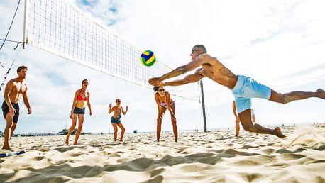 Pronájem hřiště na plážový volejbal v Modřanech