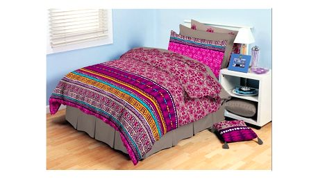 Tip Trade bavlna povlečení Ardis růžové 140 x 200 cm, 70 x 90 cm, 140 x 200 cm, 70 x 90 cm