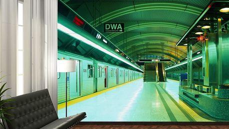 1Wall fototapeta Nástupiště metra 315x232 cm