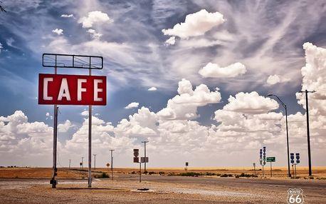 1Wall fototapeta Route 66 315x232 cm