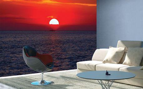 1Wall fototapeta Západ slunce 315x232 cm