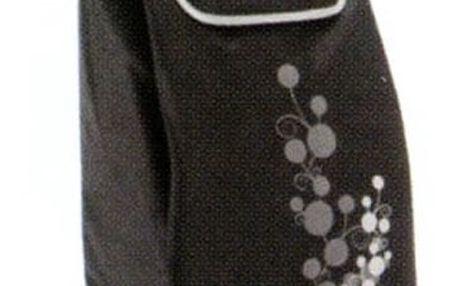 Gimi Twin nákupní taška na kolečkách šedá