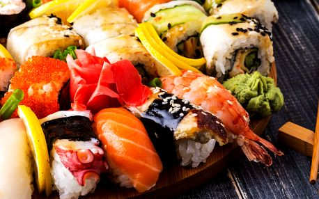 30% Sleva na sushi v Asian Food 12