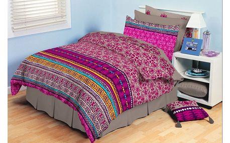 Tip Trade bavlna povlečení Ardis růžové 140 x 200 cm, 70 x 90 cm
