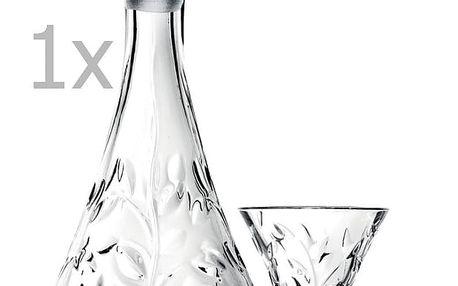 Set karafy a 6 skleniček RCR Cristalleria Italiana Bibiana