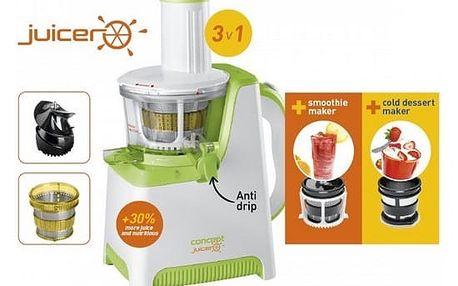 CONCEPT LO-7045 Lis na ovoce a zeleninu JUICER