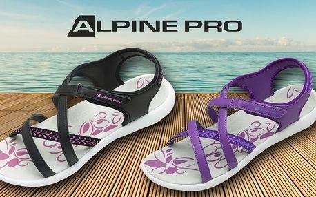 Dámské sandály Alpine Pro se zapínáním na suchý zip