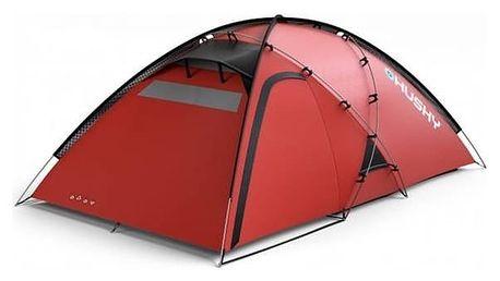 Stan Husky Extreme Felen 3-4 červený + Přístřešek BLUM 2 PLUS v hodnotě 930 Kč + Doprava zdarma