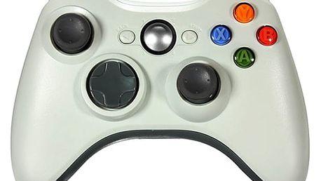 Drátový ovladač pro Microsoft Xbox 360 bílý