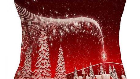 Povlaky na polštáře s vánočními motivy -11