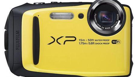 Fujifilm FinePix XP90, yellow