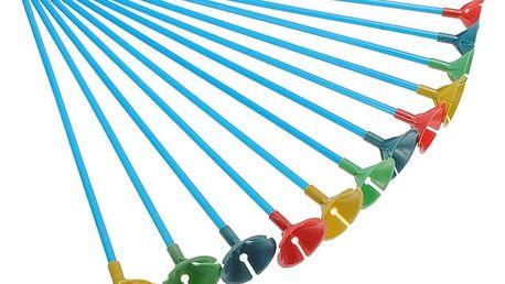 Plastové držáky na balónky s úchytem - 100 kusů