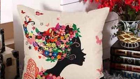 Povlak na polštář s romantickým motivem - 2
