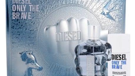 Diesel Only The Brave dárková kazeta pro muže toaletní voda 125 ml + deostick 75 ml