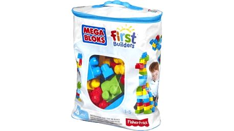 MEGA BLOKS FB Kostky v tašce – kluk (60 ks)