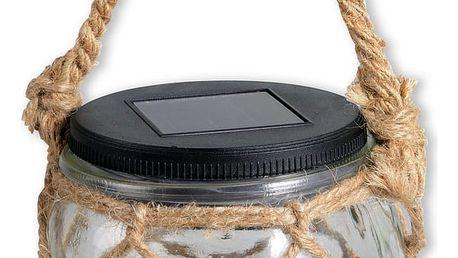 Svítidlo solární alfons, 17 cm