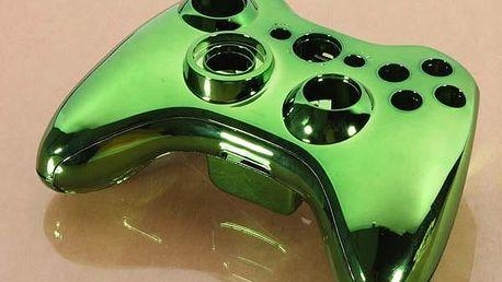 Ochranný kryt na ovladač Xbox 360 - Zelená