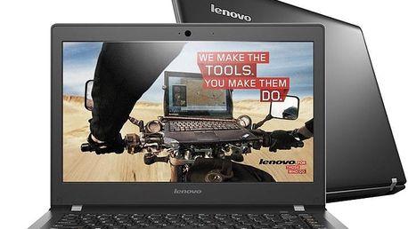 Lenovo E31-80, černá - 80MX00SACK