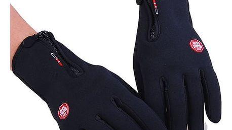 Zimní cyklistické rukavice - vel. 3