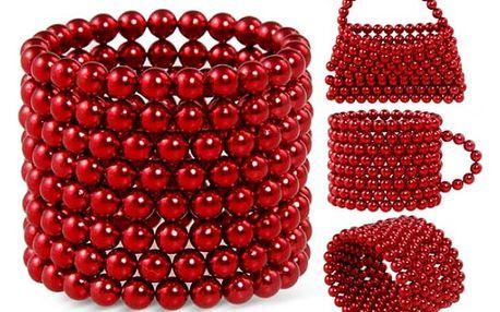 Neocube 3 mm - červená