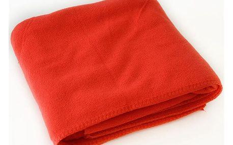 Barevná osuška - 70 x 140 cm - červená